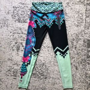 Onzie athletic leggings size s/m